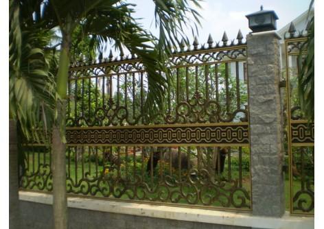 Hàng rào hợp kim nhôm
